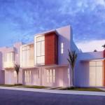 fachada Modelos, Punta Azul, El Mirador, Queretaro, Casas Platino