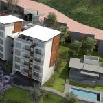 Vista aerea, Departamentos Samara Habitat, Queretaro