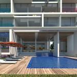 Alberca, Departamentos Koloria residence Queretaro